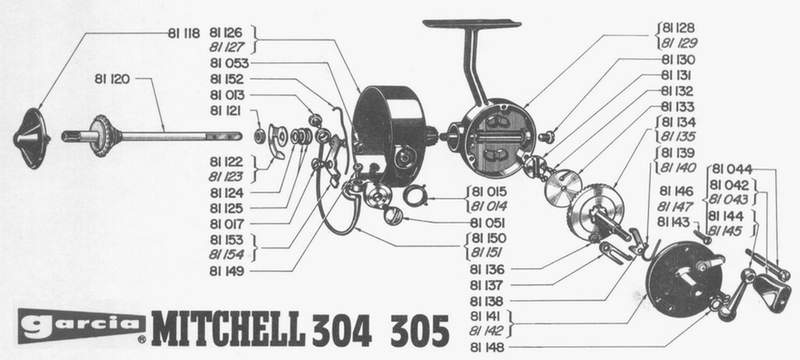 mitchell 304 exploded view
