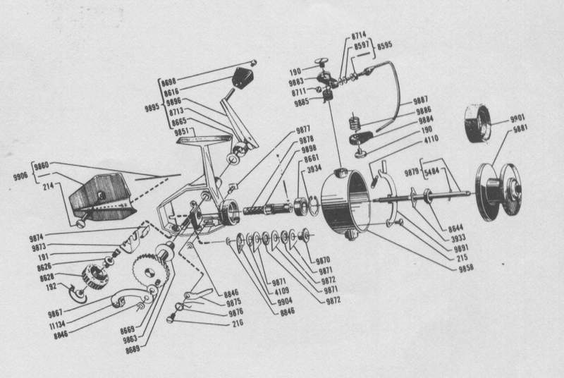 Zebco Cardinal 4 Reel Schematic Related Keywords Zebco
