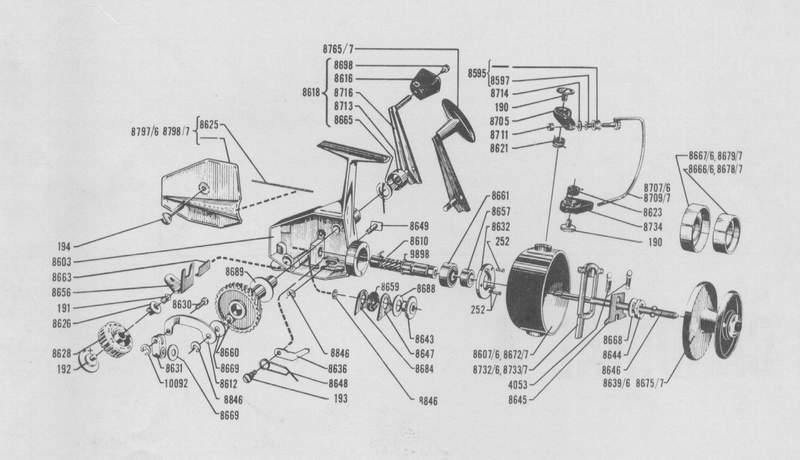 Dam Quick 270 Super Fishing Reel Schematics Wire Center